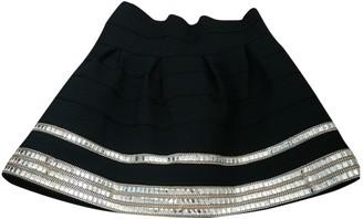 Lm Lulu Black Cotton Skirt for Women