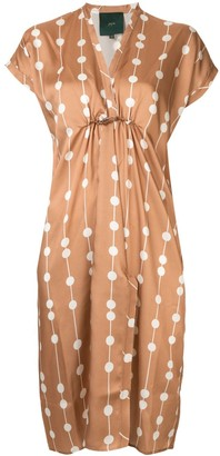 Jejia Dots V-Neck Dress