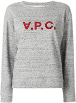 A.P.C. printed sweater - women - Cotton/Polyester - XS