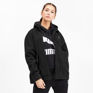 Puma Downtown Women's Sherpa Jacket