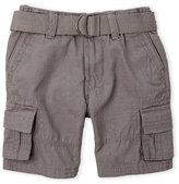 DKNY Toddler Boys) Belted Cargo Shorts