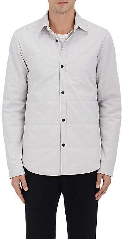 Isaora MEN'S QUILTED COTTON SHIRT JACKET