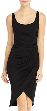 Elan International Ruched Knit Tank Dress