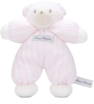 Tartine et Chocolat teddy bear comforter