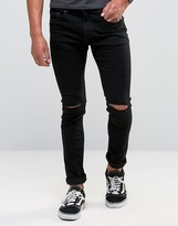 ONLY & SONS Skinny Jeans with Knee Rip