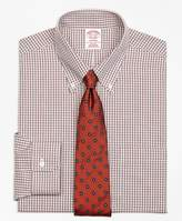 Brooks Brothers Non-Iron Madison Fit Twin Check Dress Shirt
