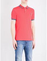 Ps By Paul Smith Brand-logo Cotton-piqué Polo Shirt
