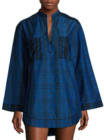 Proenza Schouler Shirt Dress Coverup