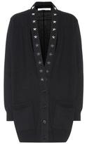 Givenchy Embellished cashmere cardigan