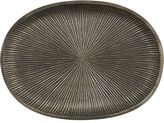 "Crate & Barrel Sycamore 7.5""x5.5"" Plate"