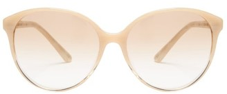 The Row X Oliver Peoples Brooktree Acetate Sunglasses - Cream