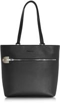 Giorgio Fedon Amelia Black Leather Tote Bag