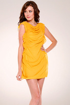 Sleeveless Draped Dress