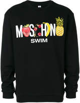 Moschino fruit logo sweatshirt