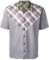Raf Simons patchwork shirt - men - Cotton - 48