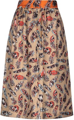 La Prestic Ouiston 3/4 length skirts