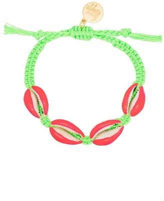Venessa Arizaga Fantasea shell braided bracelet
