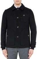 Ted Baker Osmond Wool Blend Coat