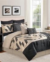 Sunham Delmont 10-Piece Full Comforter Set