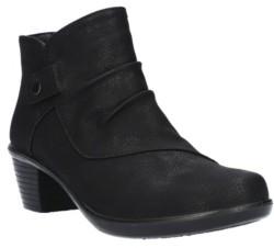 Easy Street Shoes Cooper Comfort Booties Women's Shoes