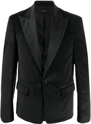 Amiri Formal Single Breasted Blazer