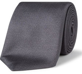 Canali Silk Plain Textured Tie