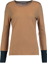 Bailey 44 Two-tone merino wool sweater