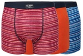 Mantaray Big And Tall Pack Of Three Assorted Patterned Hipster Trunks