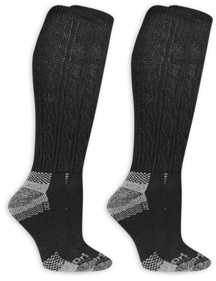Dr. Scholl's Women's Advanced Relief Knee High Socks with BlisterGuard 2 Pack
