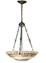 Dale Tiffany Dale TiffanyTM Zaxon Inverted Mosaic Hanging Fixture