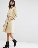 Asos Trench with Contrast Cuff Detail