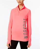 Material Girl Active Juniors' Half-Zip Jacket, Only at Macy's