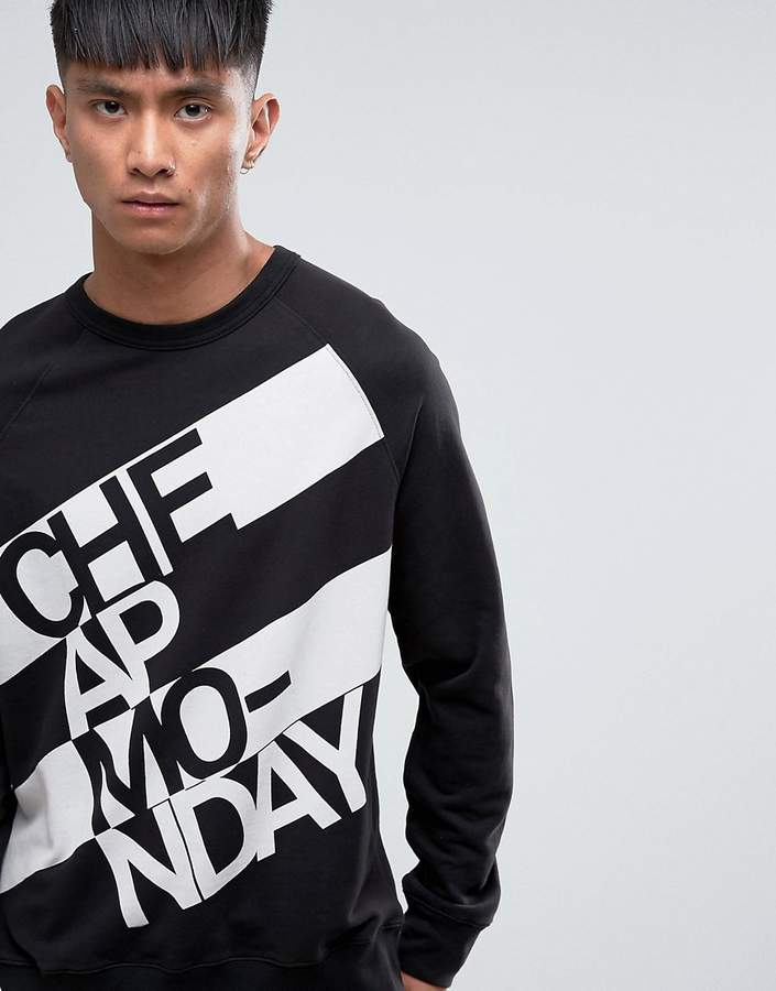Cheap Monday Rules Sweat Prop Logo
