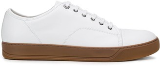 Lanvin Low-Top Leather Sneakers
