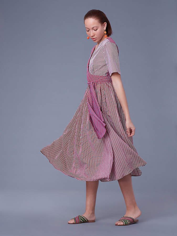Diane von Furstenberg Short-Sleeve Wrap Dress
