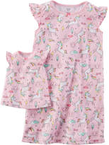 Carter's Short Sleeve Nightgown-Preschool Girls