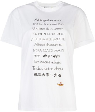 Stella McCartney All Together Now Printed T-Shirt