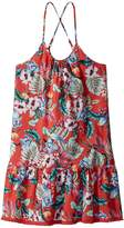 Seafolly Jungle Paradise Fringing Dress Cover-Up Girl's Swimwear