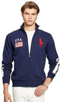 Polo Ralph Lauren USA Fleece Track Jacket