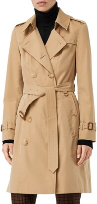 Burberry The Chelsea Slim Fit Heritage Trench Coat