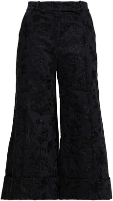Zimmermann Cotton-jacquard Culottes