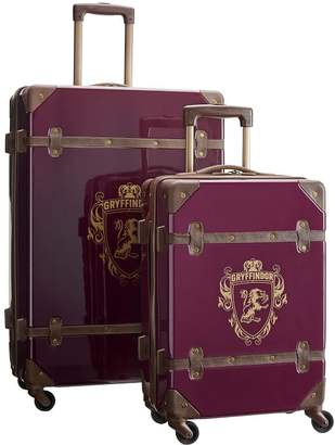Pottery Barn Teen HARRY POTTER Hard-Sided GRYFFINDOR 2-Piece Spinner Luggage Set