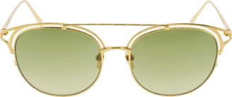 Linda Farrow Brow Bar Sunglasses