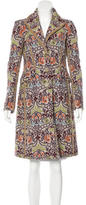 Etro Paisley Tweed Coat
