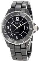 Burgi Women's BU57BK Ceramic Quartz Bracelet Watch