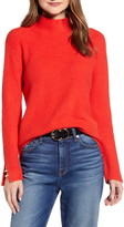 Halogen Mock Neck Sweater