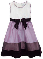 Rare Editions Girls 2-6x Colorblock Social Dress