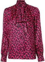 Marc Jacobs poodle jacquard blouse - women - Silk - 4