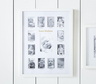 Pottery Barn Kids White Lacquer First Year Frame