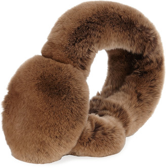 Surell Accessories Rabbit Fur Earmuffs